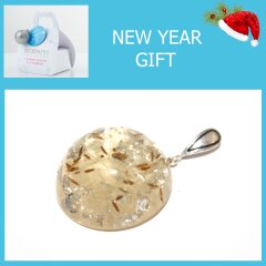 Pendant with blowball. New Year's Collection